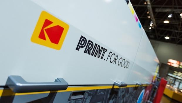 Kodak druckt für den guten Zweck und arbeitet damit an der Zukunft der Druckbranche