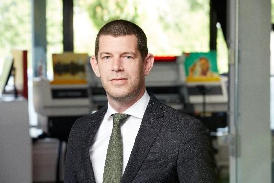 Arjen Evertse von Mimaki wird zum General Manager Sales, EMEA befördert