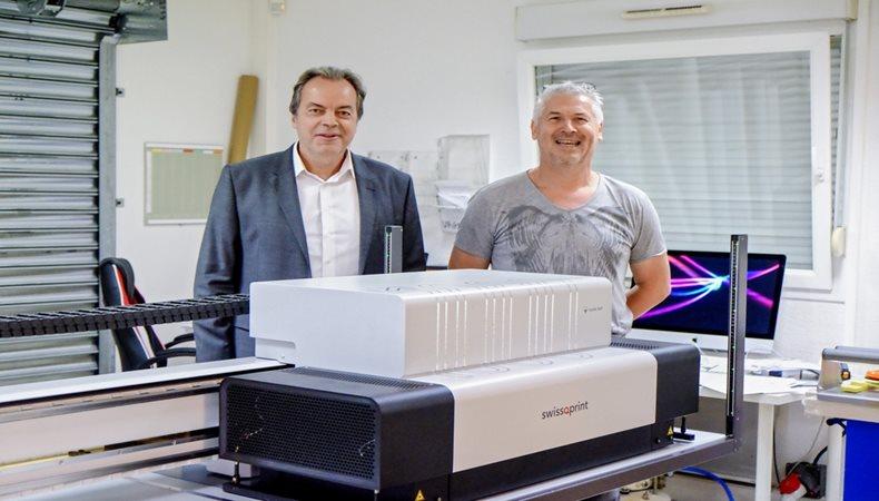 Tausendste Swissqprint-Maschine im Echtbetrieb