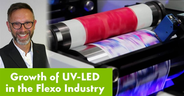 Nazdar EMEA Sales Manager estimates growth of UV LED in flexographic industry