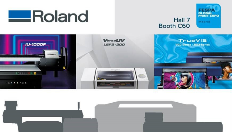 Discover new digital opportunities with Roland DG at FESPA 2020