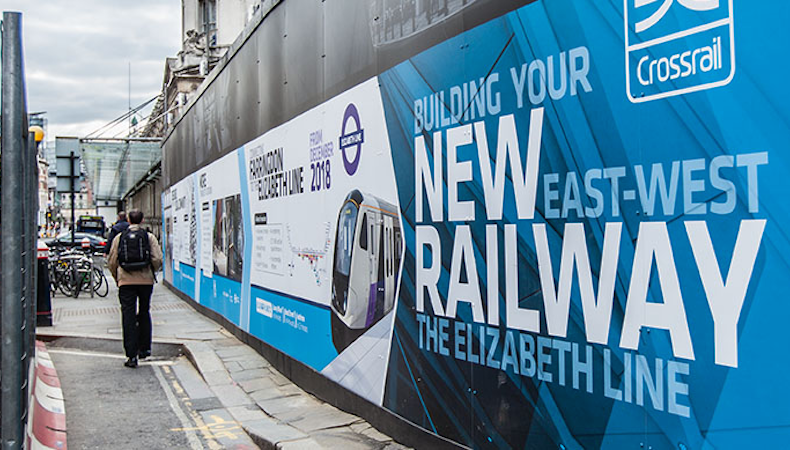 PressOn completes a Crossrail project