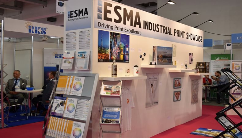 ESMA to return to FESPA 2019 with Industrial Print show case and ESMA Pavilion