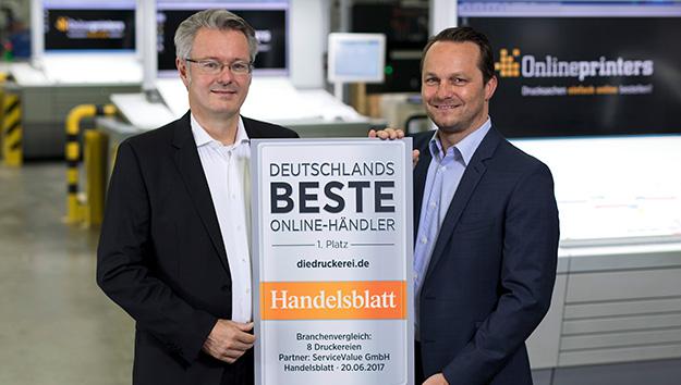 Deutsche Online-Druckereien erhalten wieder Auszeichnungen
