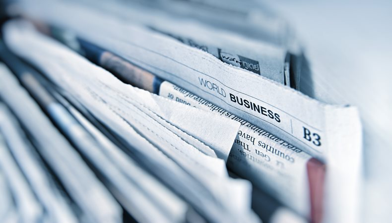 Das Zeitalter der gedruckte Zeitungen nähert sich dem Ende