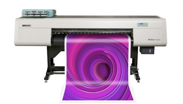 Fujifilm's new Acuity LED wide-format printer at FESPA Digital