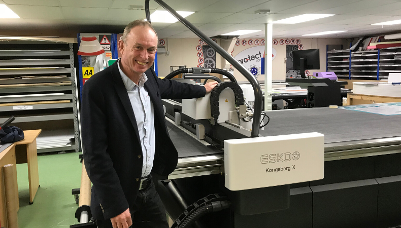 A Mimaki flatbed printer and an Esko digital cutting table are helping keep the country safe