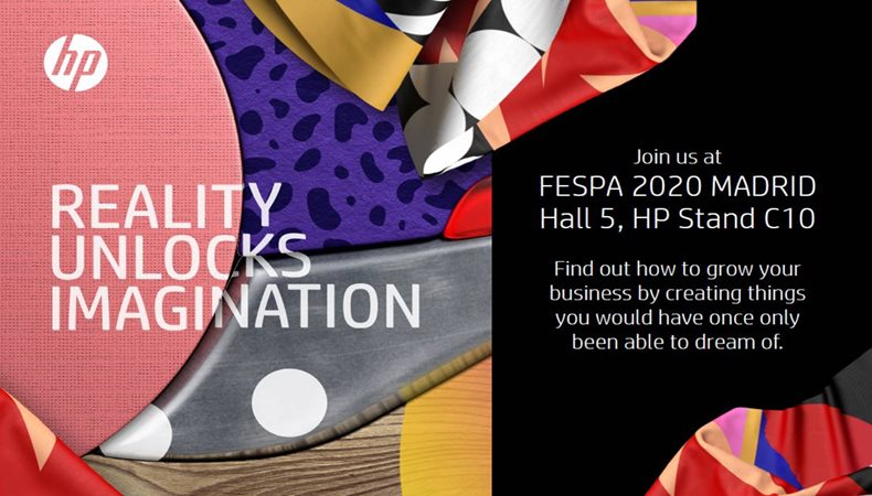HP set for major showcase at FESPA 2020