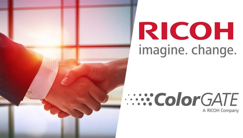 Ricoh and ColorGATE to set the colour standard at FESPA 2019