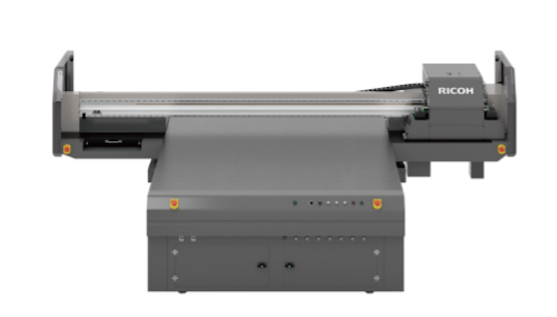 Ricoh releases first UV flatbed printer