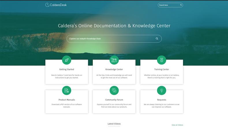 Caldera releases CalderaDesk