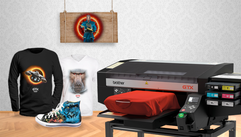 Flexibility through Brother Textile Printing: From tees to leather to shoes