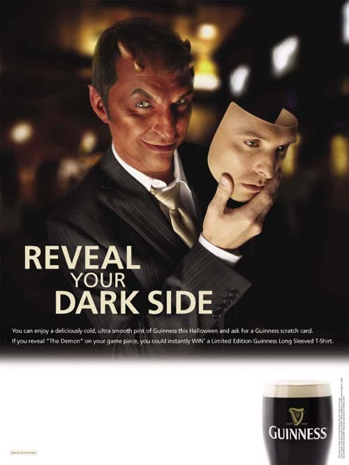 guinness reveal your dark side