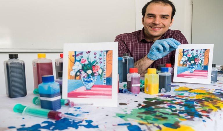 Student erzielt Durchbruch bei Herstellung von Fine-Art-Prints