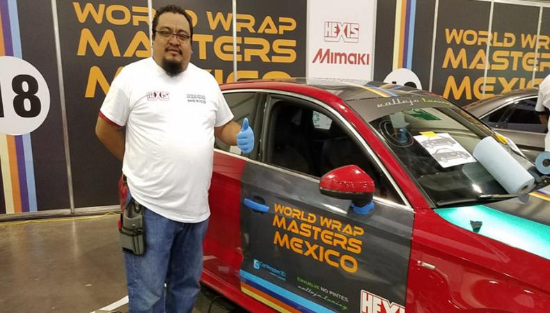 Giovanni Rosas Linares fue coronado como el ganador de la Wrap Masters Mexico 2018