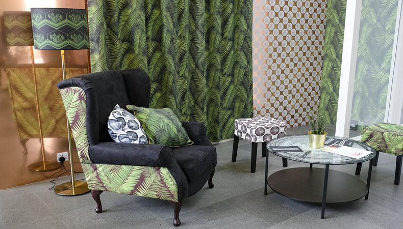 Printeriors showcases a new generation of textiles for printed furnishings
