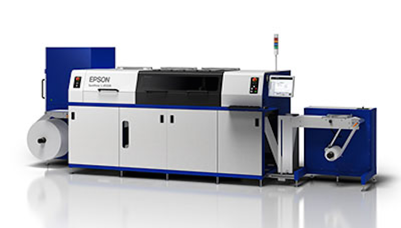 Epson launches new short-run label press