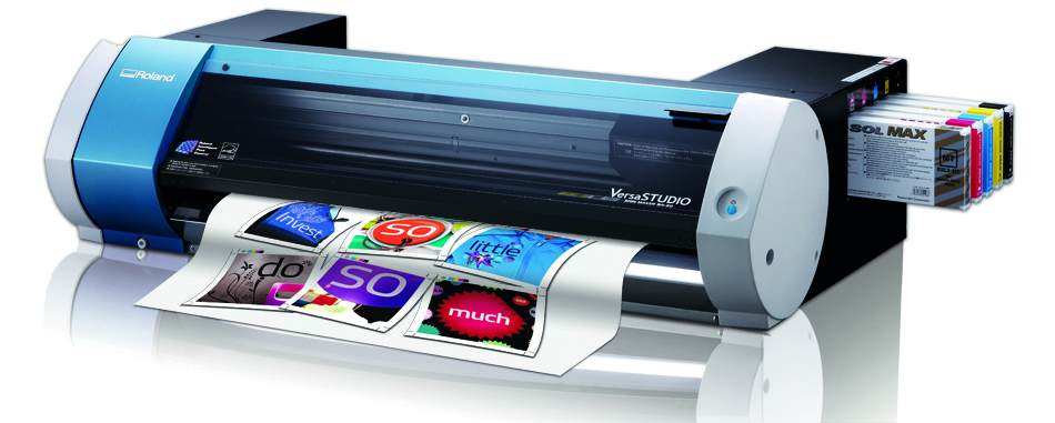 2. Roland BN 20 desktop printer cutter