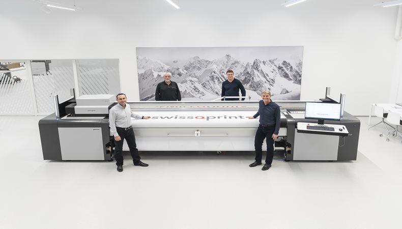 swissQprint remodels its management team