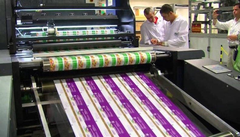 Digital print continues to disrupt the packaging