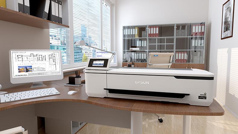 Neuer kompakter Epson Großformatdrucker für Einsteiger