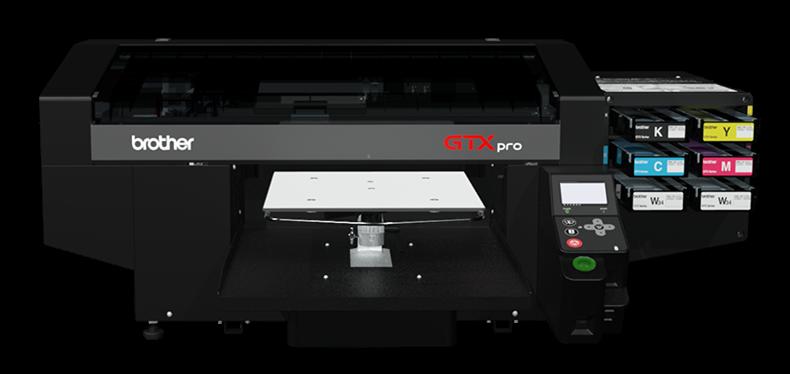 Brother stellt aktuellen Textildrucker GTXpro für den Direktdruck vor