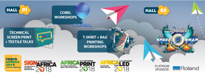 FESPA Africa 2018 and Sign Africa announces educational features