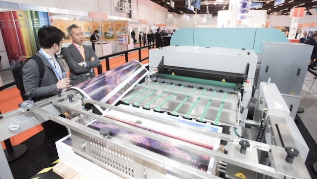 Fujifilm's new B1 inkjet makes its world debut at FESPA