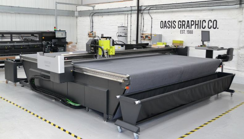 Oasis Graphic expands with triple investment