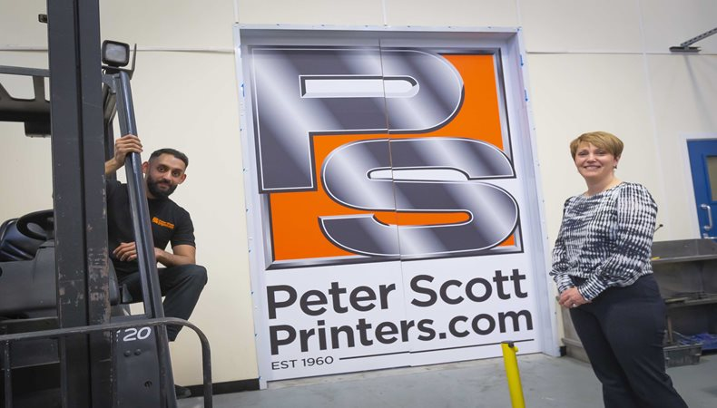 Peter Scott Printers trains up next generation of workers