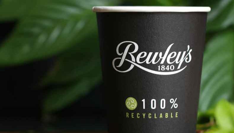 Vollständig recycelbare Einwegbecher bei Flyeralarm
