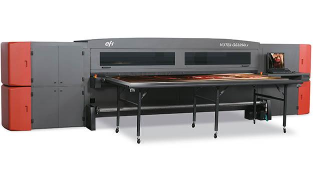 LED-Hybriddrucker EFI VUTEk: High-End-Ausgabe und höhere Produktivität