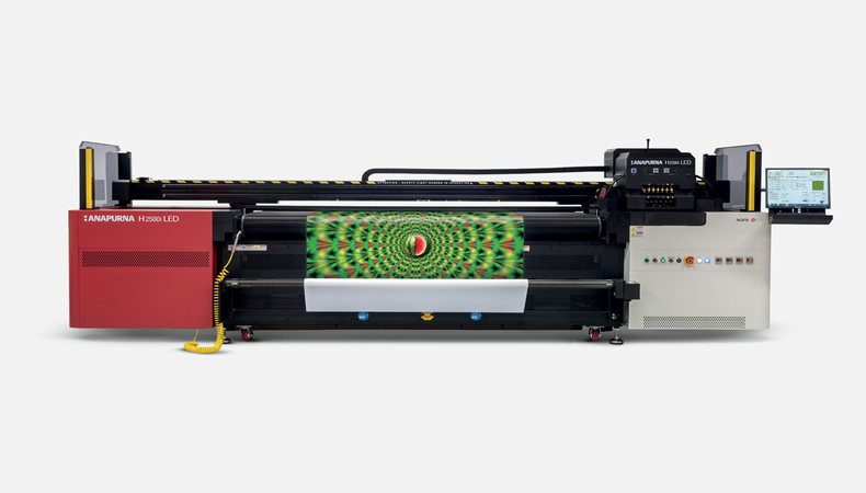Fisher Print sets growth goal with new Agfa
