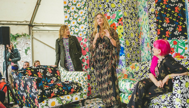 Richard Quinn and Epson explore art décor at Port Eliot