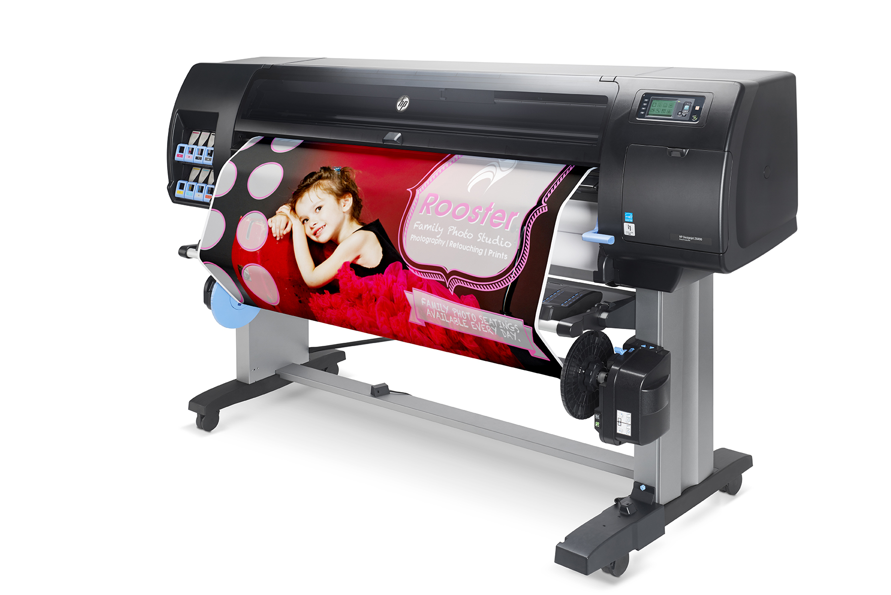 HP Designjet Z6800 right with output