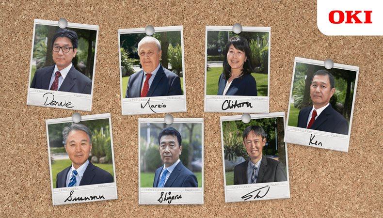 OKI reveals new leadership team for European business