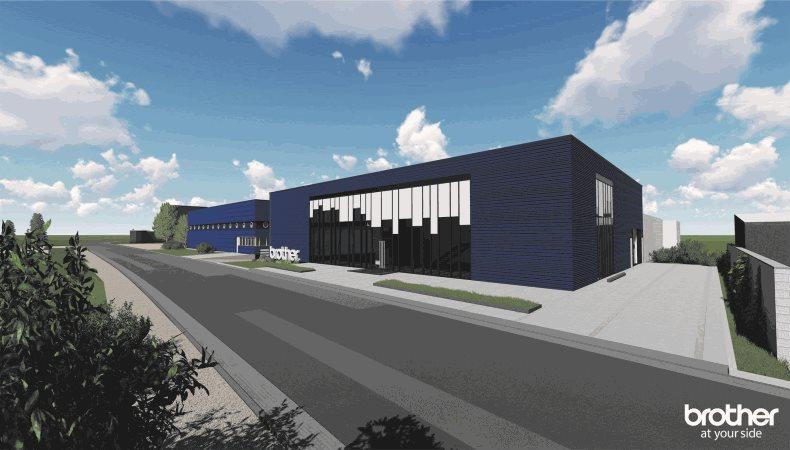 Brother Internationale Industriemaschinen GmbH baut neue Hauptverwaltung