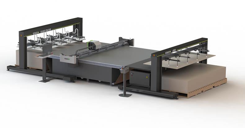 Automatisierte Verarbeitung für Digitaldrucke
