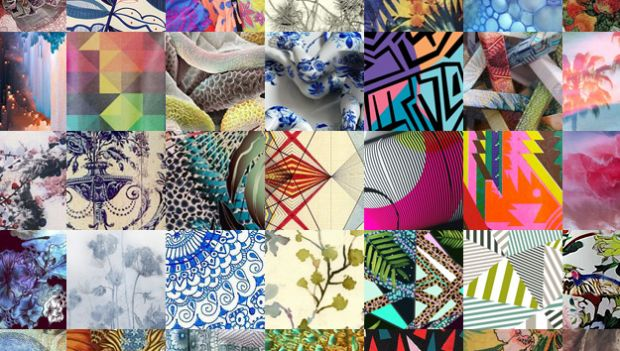 Textile print trends for Spring-Summer 2014