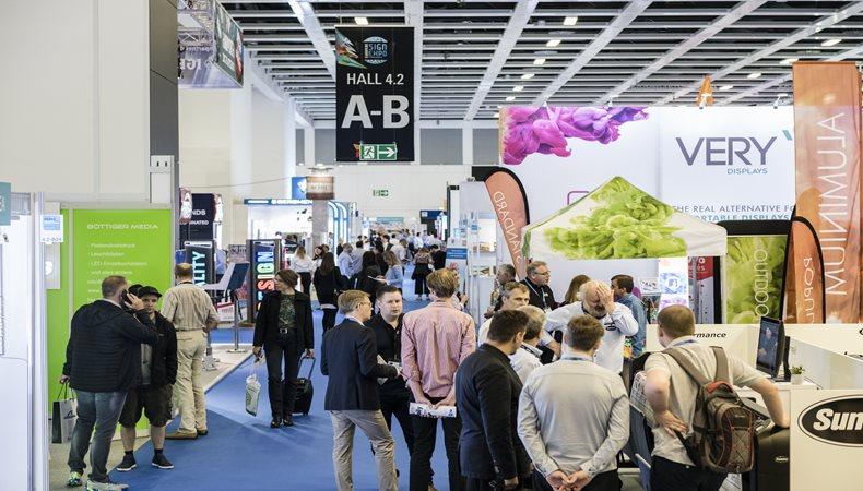 Explore las posibilidades de la señalización no impresa en European Sign Expo 2019