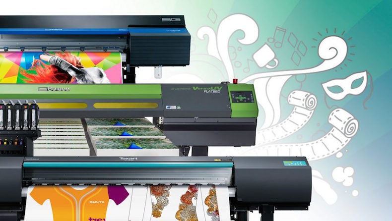 Roland presentará tecnologías integradas de impresión y corte en FESPA Mexico