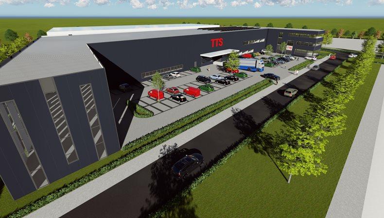 TTS expandiert und errichtet energieneutrales Firmengebäude
