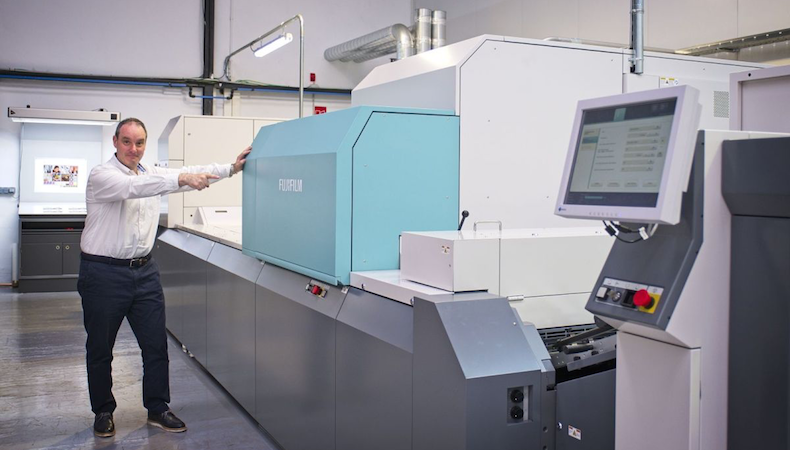 Start-up digital print firm opts for Jet Press 720S