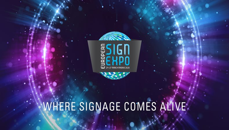 See non-printed signage come to life at European Sign Expo 2020