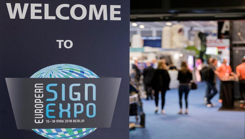 Erweiterte European Sign Expo 2018 verzeichnet zunahme der fachbesucher um 26 %
