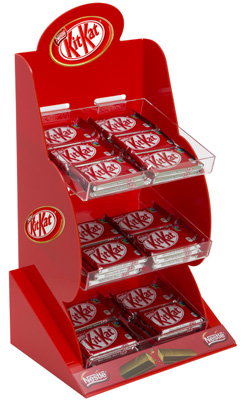 Kit Kat POS Display