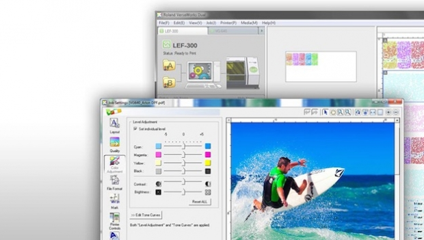 Roland DG actualiza el software RIP VersaWorks Dual