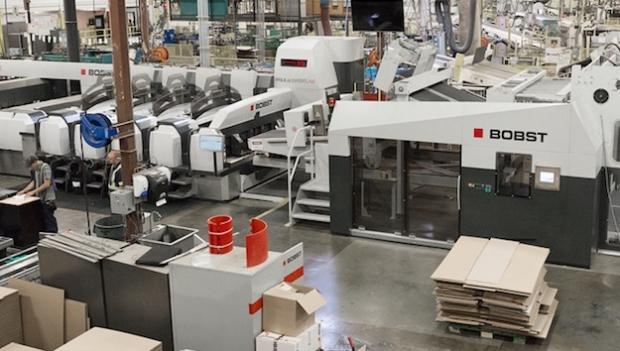 La productividad de Bobst impulsa a un fabricante de cajas de Quebec