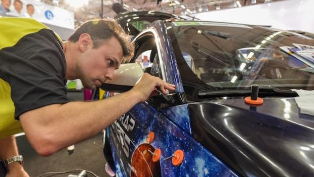 Weltmeisterschaft im car wrapping geht in Amsterdam in den endspurt