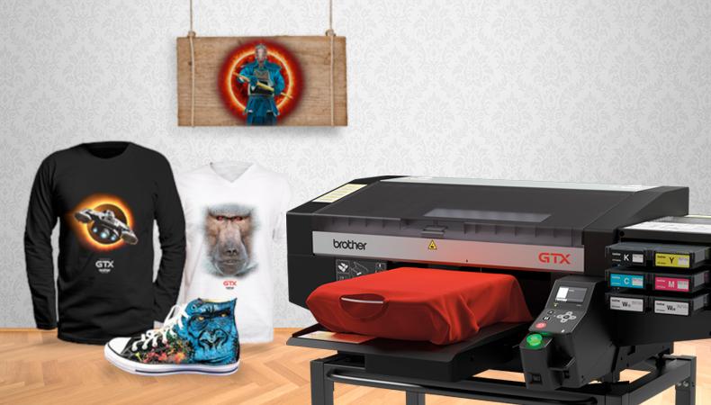 Flexibilität durch Brother Textile Printing: Von T-Shirts über Leder bis hin zu Schuhen